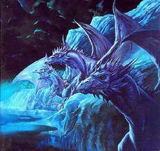 blue dragons