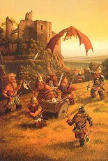red dragon approaches darves