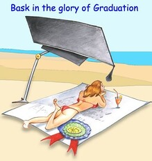 bask in the glory of graduation