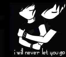 i will never let you go emo love