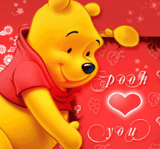 winnie the pooh loves you