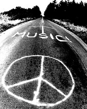 music peace sign