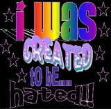 i was created to be hated