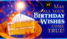 may all your birthday wishes come true