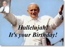 hallelujah it's your birthday