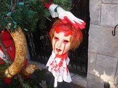 bloody decorations
