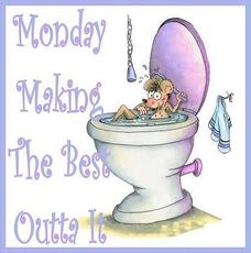 monday mouse in toilet