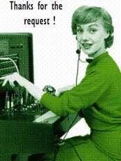 thanks for the request phone operator