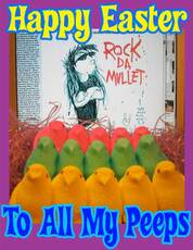 happy easter to all my peeps