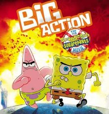 sponge bob patrick big action movie
