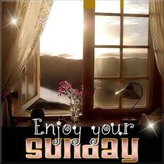 Enjoy Your Sunday