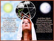 bide the wiccan law